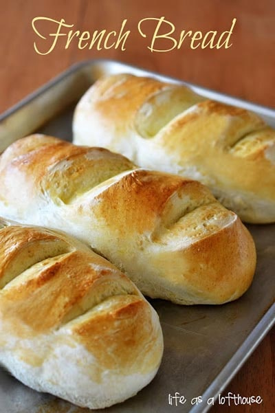 Homemade bread recipes: Fabulous French Bread
