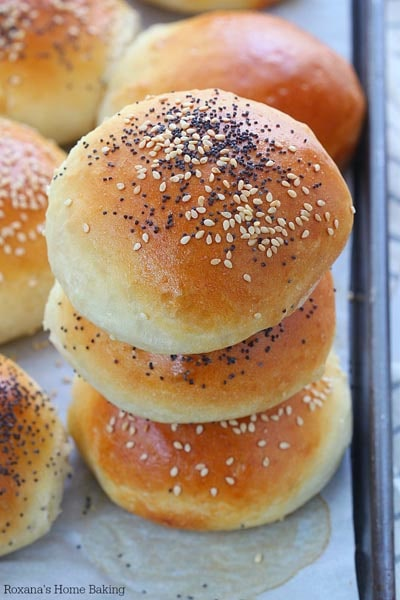 Homemade Burger Buns