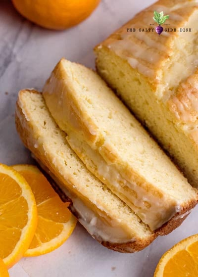 Homemade bread recipes: Orange Bread with Orange Glaze