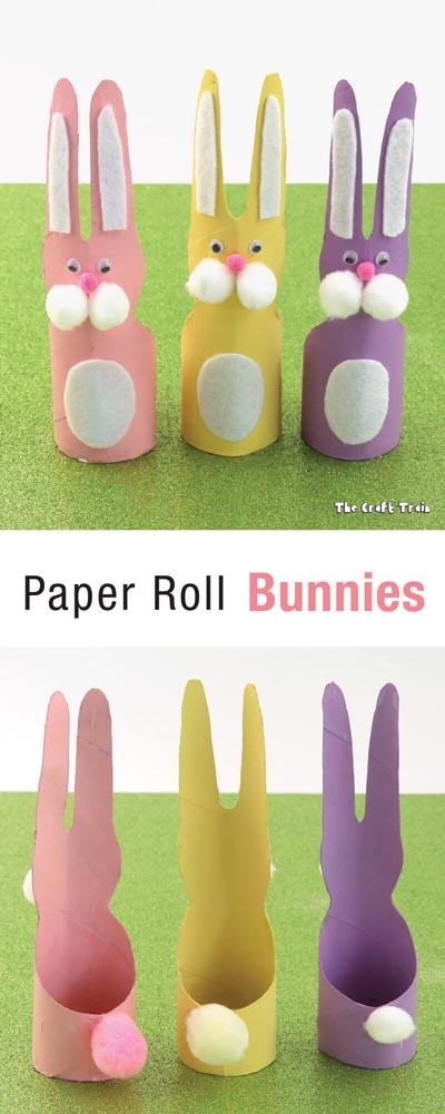 Paper Roll Bunnies