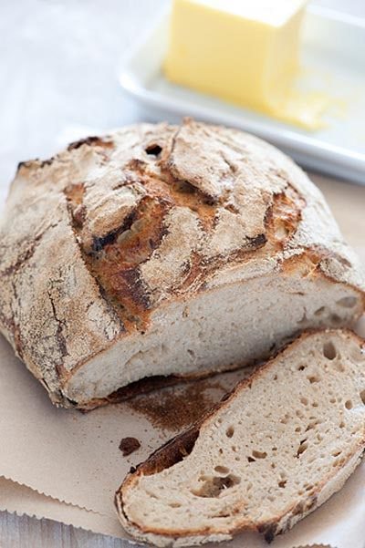 Rustic Homemade Sourdough Bread