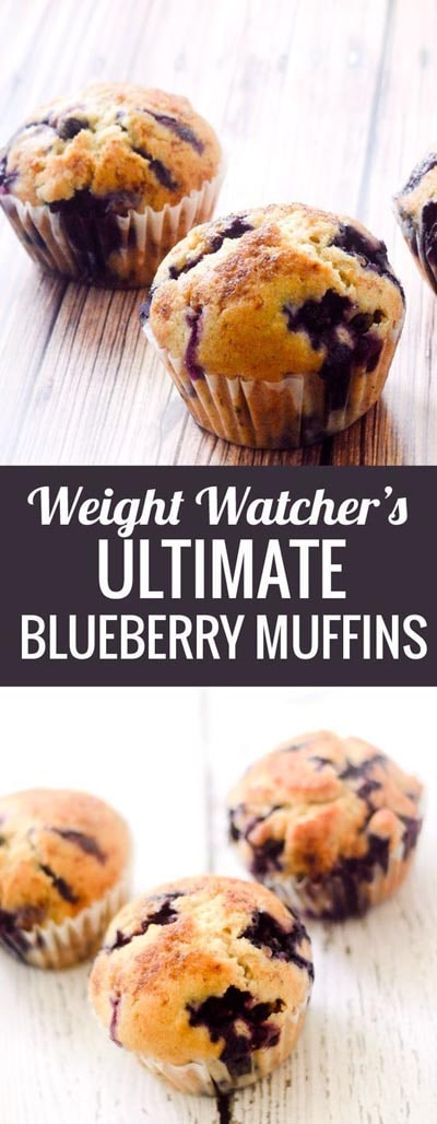 Weight watchers desserts: Ultimate Blueberry Muffins