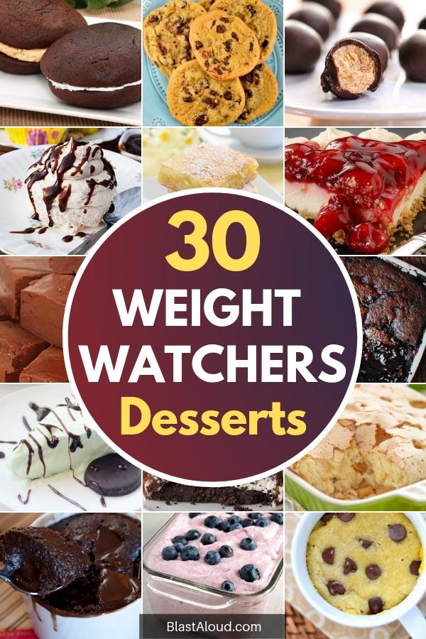 Weight Watchers Desserts With SmartPoints