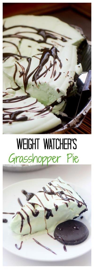 Weight Watchers Frozen Grasshopper Pie