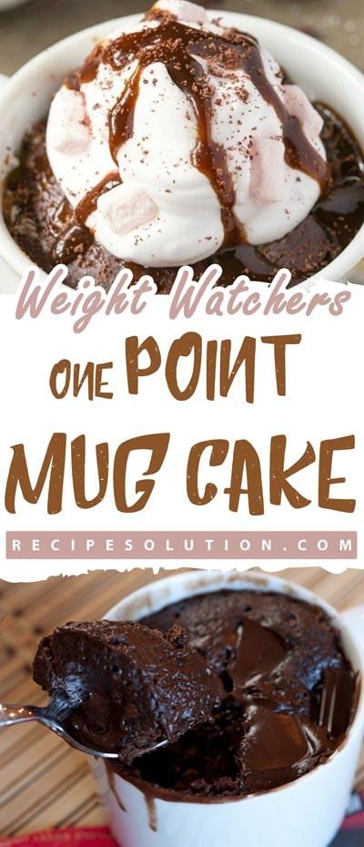 Weight Watchers One Point Mug Cake