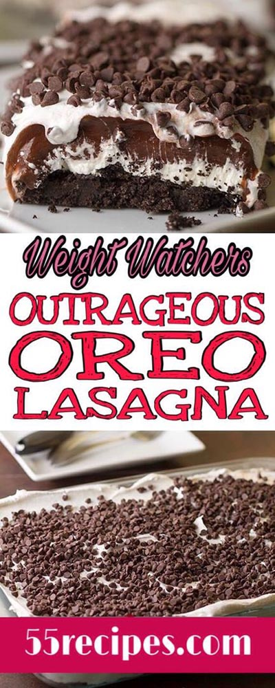 Weight Watchers Outrageous Oreo Lasagna