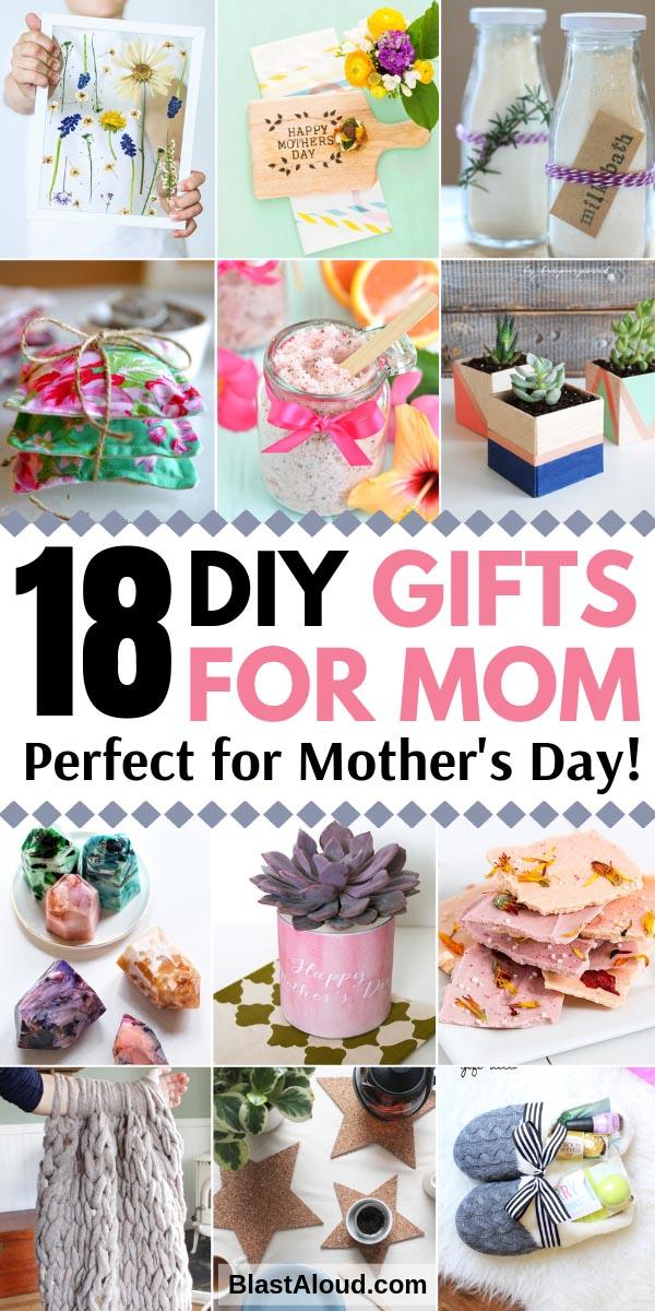 Handmade DIY Gifts For Mom