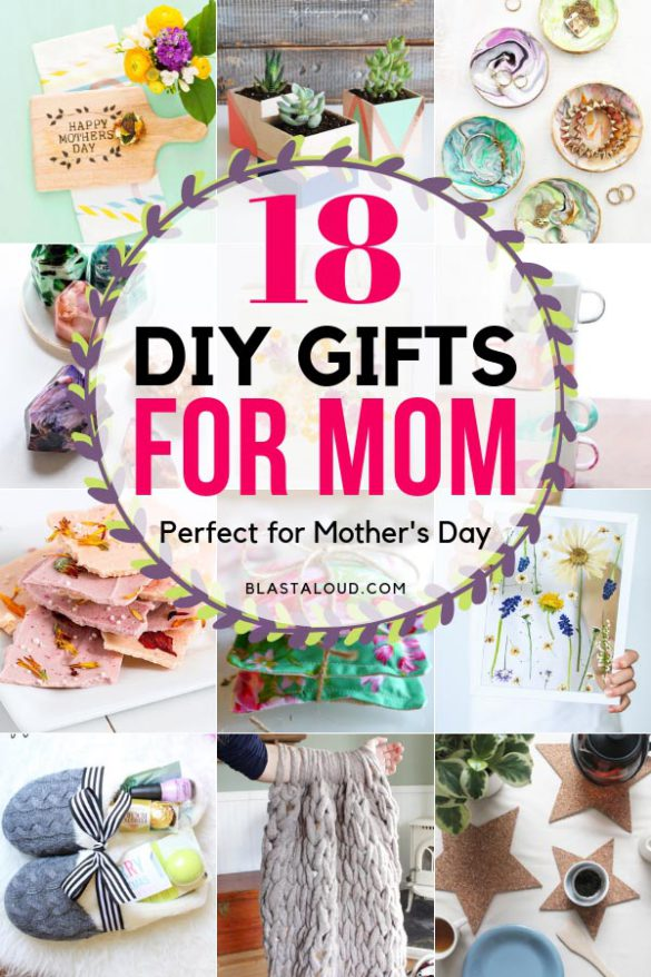 Handmade DIY Gifts For Mom