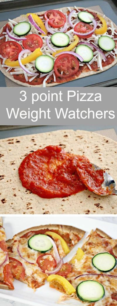3 Point Weight Watchers Flatout Flatbread Pizza