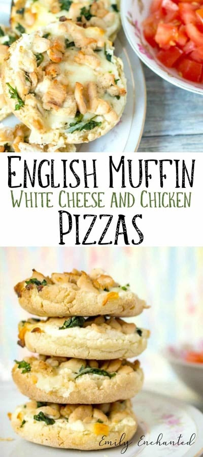 Weight Watchers Pizza Recipes: Cheesy English Muffin Pizzas