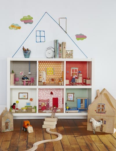 IKEA Kallax Hacks: DIY Bookcase Dollhouse