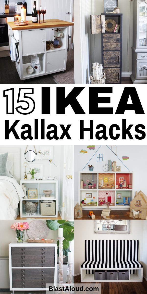 IKEA Kallax Hacks on a Budget