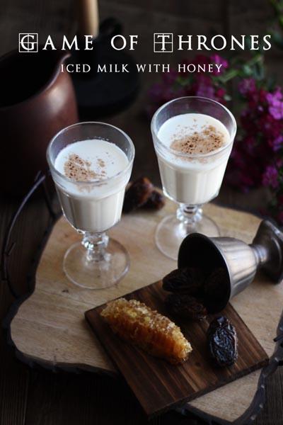 Game Of Thrones Recipes: Iced Milk & Honey