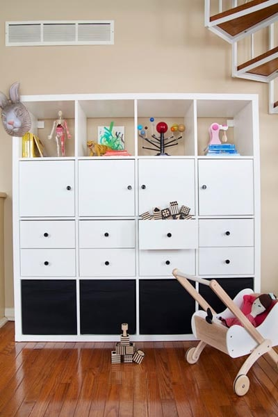 IKEA Kallax Hacks: Quick and Convertible Toy Storage
