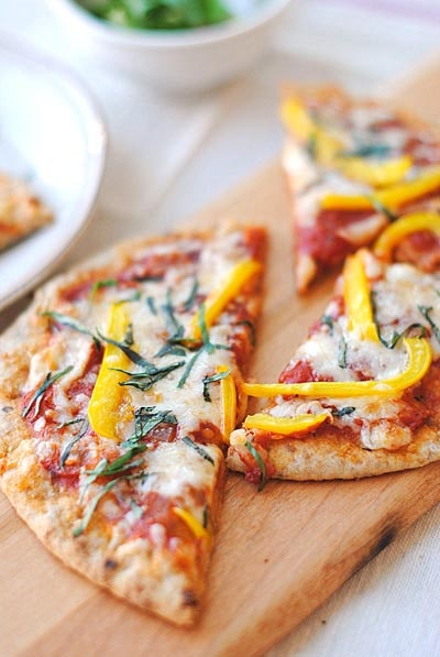 Weight Watchers Pizza Recipes: Whole Wheat Pita Bread Pizza