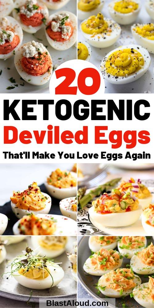 Keto Friendly Deviled Eggs