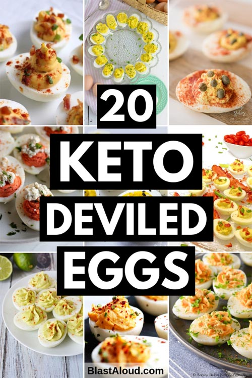 Keto Friendly Deviled Eggs