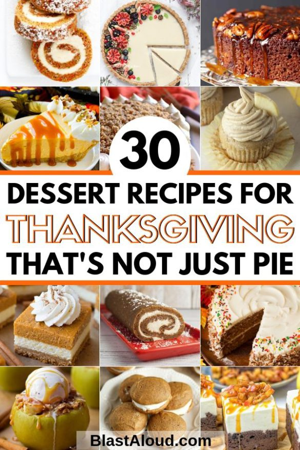 Easy Dessert Recipes For Thanksgiving (1)