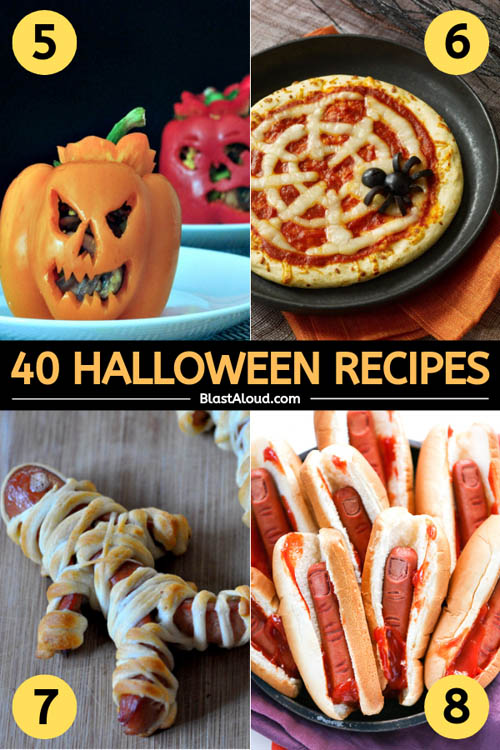 Family Friendly Halloween Recipes, Desserts and Appetizers