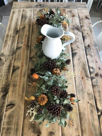 Easy DIY Thanksgiving table setting ideas: DIY Fall Farmhouse Tablescape