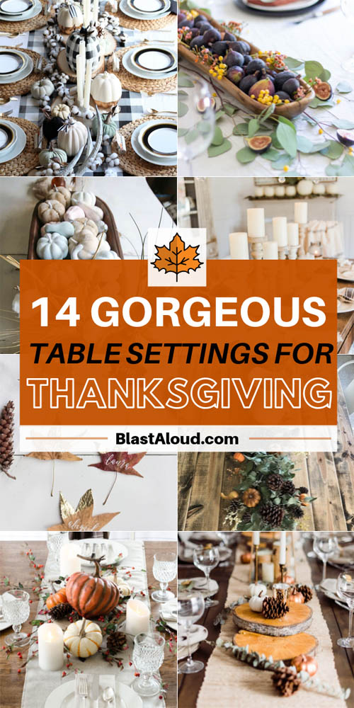 DIY Thanksgiving Table Setting Ideas