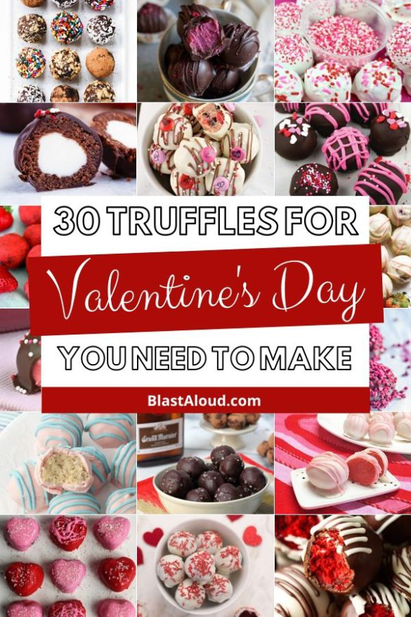Valentine's Day Truffles Recipes