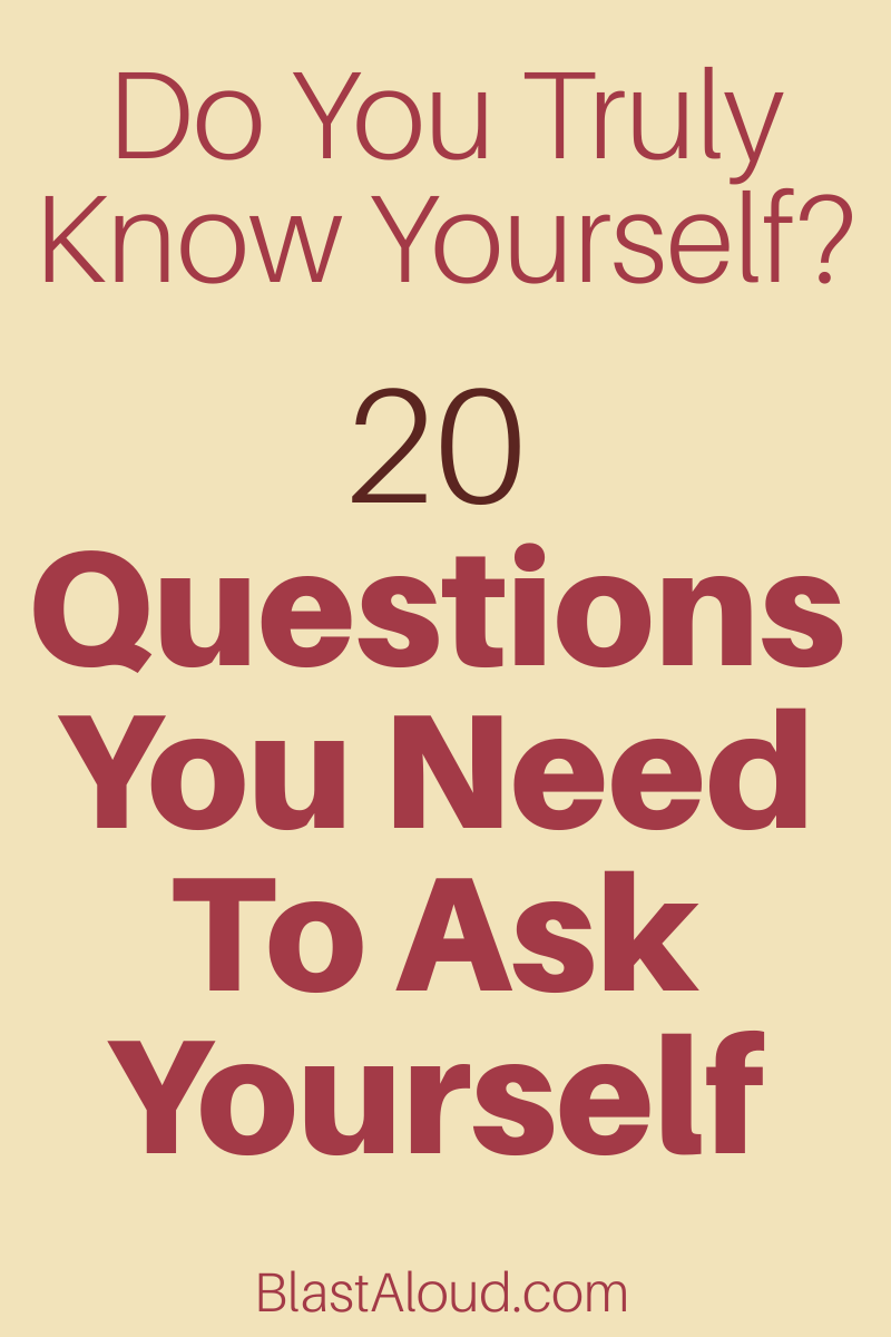 Deep self reflection questions to ask yourself