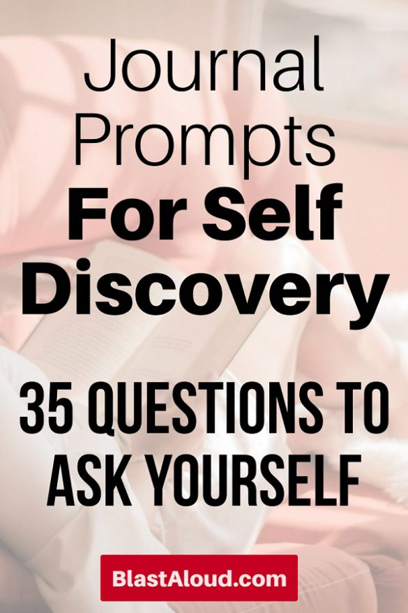 35 Journal prompts for self discovery