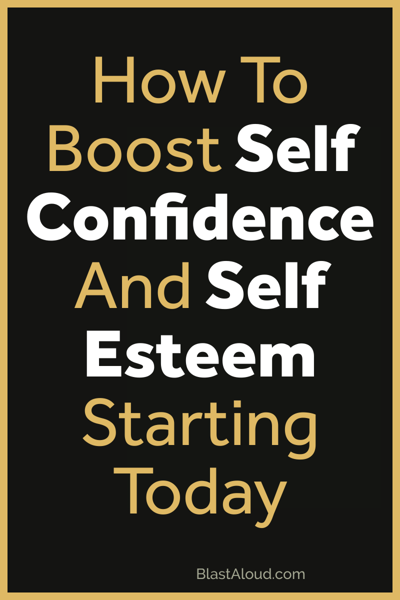 How to boost self confidence