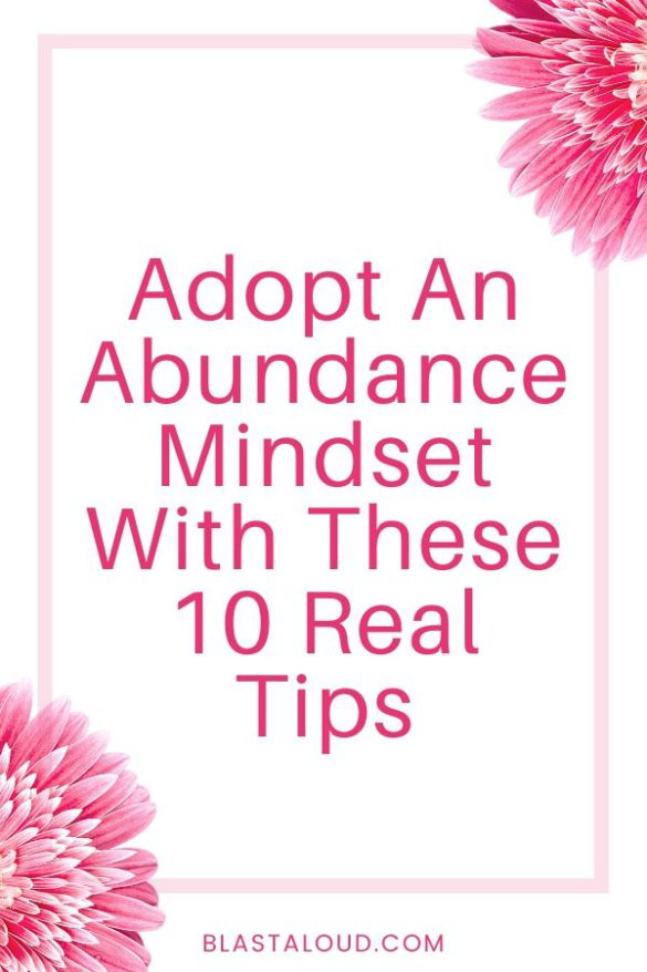 How To Have An Abundance Mindset