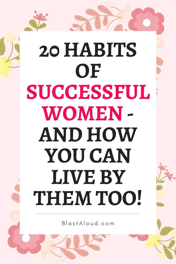 Habits Of Successful Women