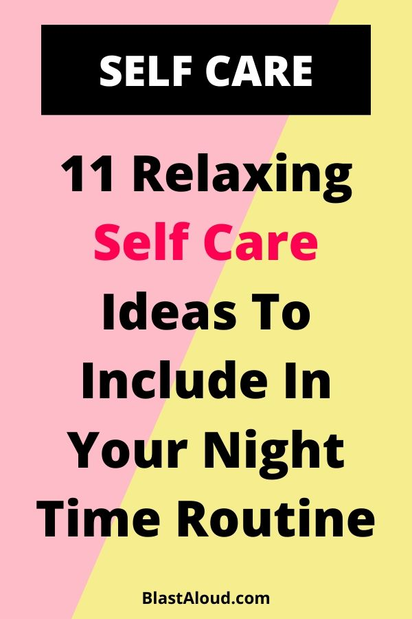 Self Care Night Routine
